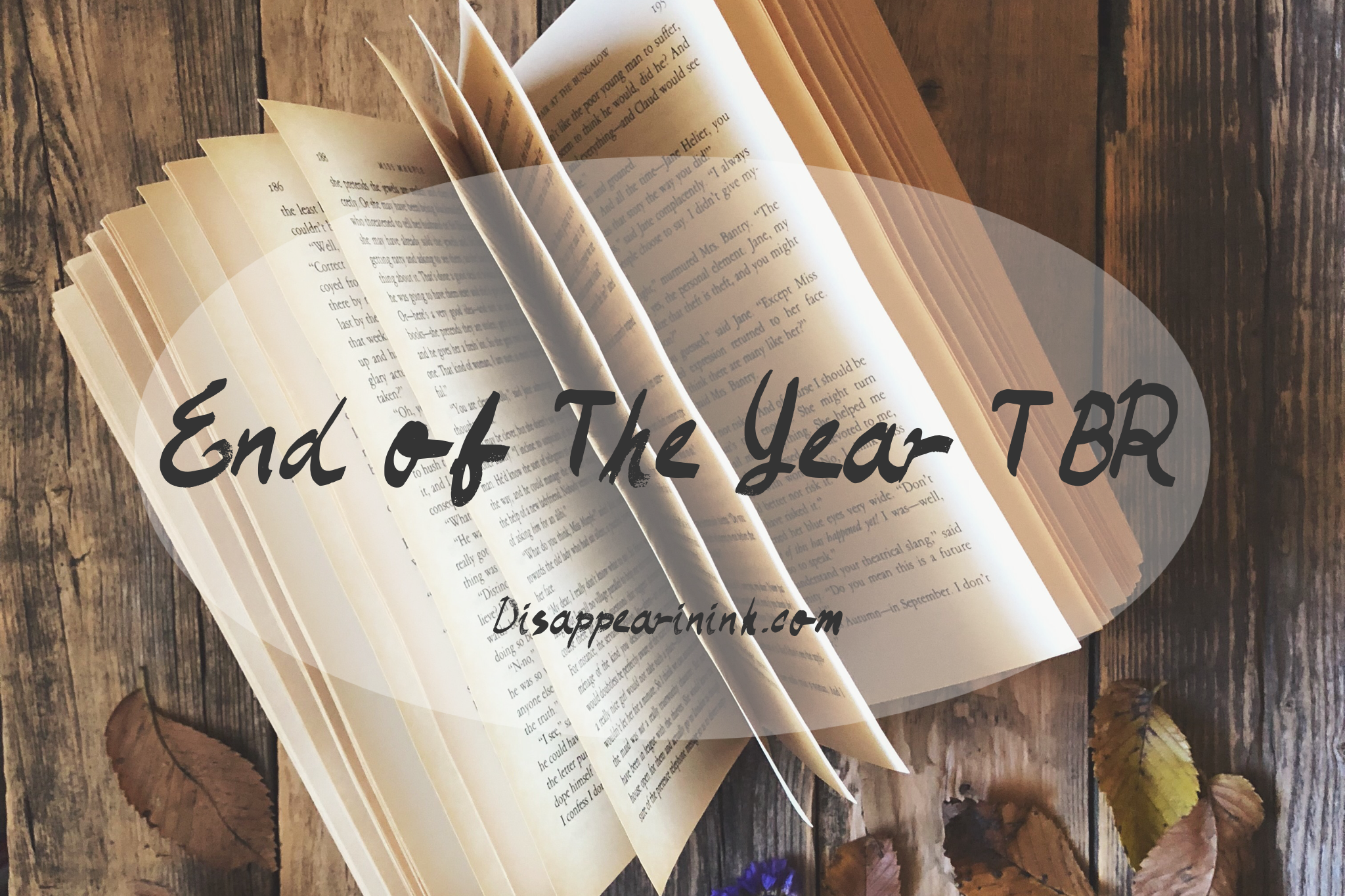 My End Of The Year TBR | 2018 List