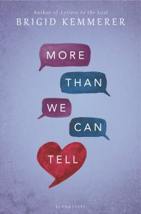 Book Review: 'More Than We Can Tell' ~ Brigid Kemmerer | Disappearinink.com