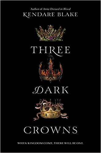 Check out this review of 'Three Dark Crowns' by Kendare Blake on Disappearinink.com!